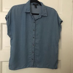 Button Down Chambray Shirt